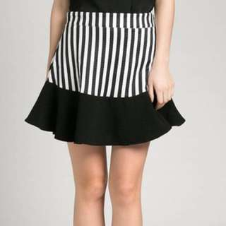 Kizzie Stripes Skirt