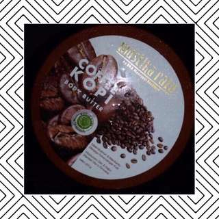 mustika ratu body butter coffee