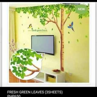 Fresh Green Tree (3sheets)