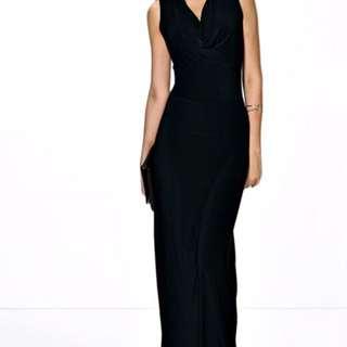 Boohoo Black Formal/Maxi Dress