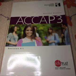 ACCA P3 2017 Revision Kit - LSBF