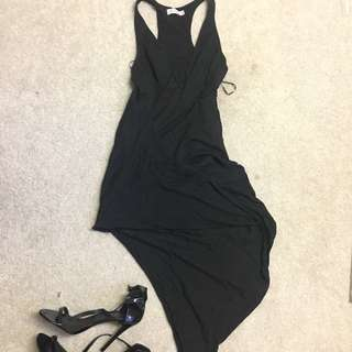 Black Fashion Dress