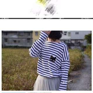 🚚 正韓-超可愛的喵喵🐱🐱上衣