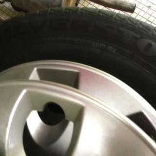 "Original Silverstone 13"" Tyres"
