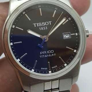 Tissot PR-100 Titanium Quatrz Watch