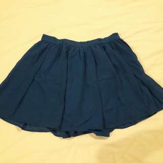 H&M Blue Skirt ORI