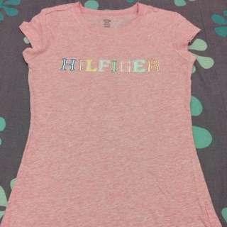 Hilfiger pink shirt