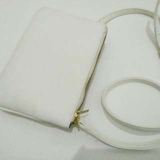 Sling Bag White