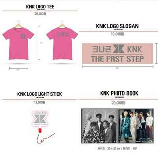 [WTB] KNK First Fanmeeting Goods