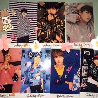 Young Forever photocards