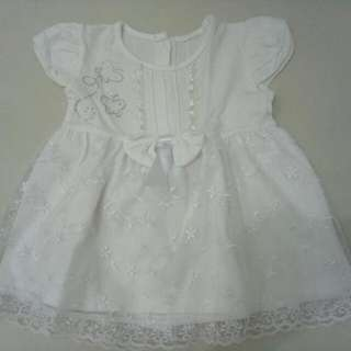 Dress Bayi Putih