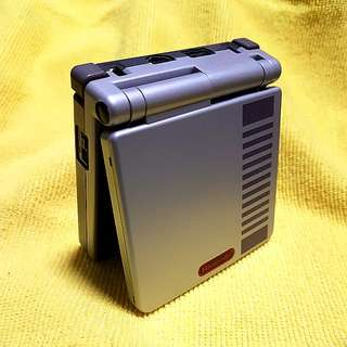 Nintendo Gameboy Advance SP (ags-001) NES EDITION