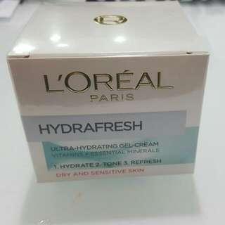 L'OREAL HYDRAFRESH - Ultra-Hydrating Gel-Cream