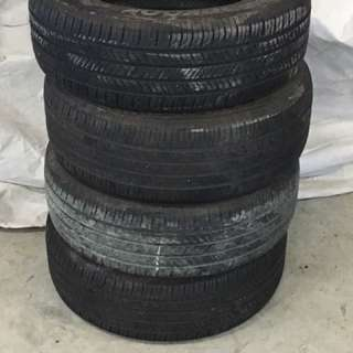 215/60r16 Hankook Summer Tires