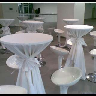 Round Dessert Table For Rent