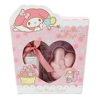 日本SANRIO Melody/ Little Twin Stars沐浴禮盒裝