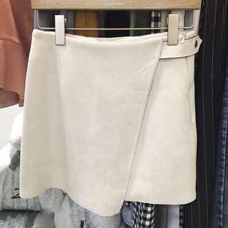 韓國麂皮短裙