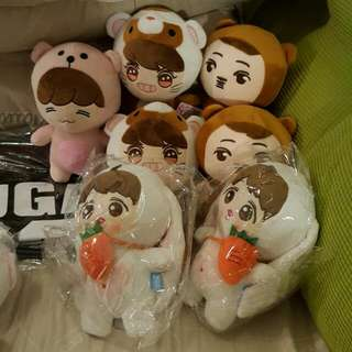 EXO ~ LAY / KAI  AND OTHER MEMBERS DOLL