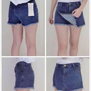顯瘦牛仔褲裙 M