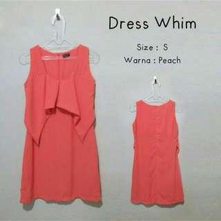 Whim Peach Dress