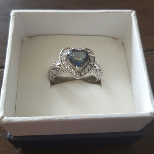 925 Heart Shaped Ring