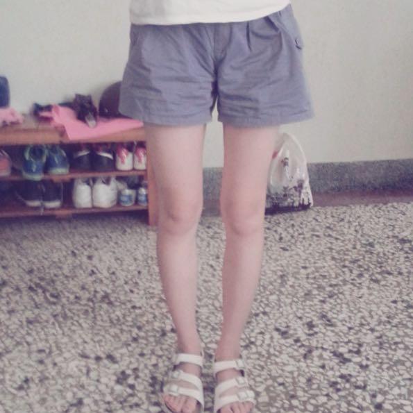顯瘦鬆緊短褲