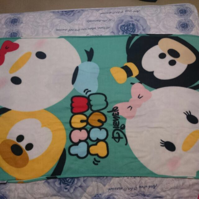 (全新現貨)新光三越兌換 迪士尼Disney經典系列刷毛毯 tsumtsum毛毯