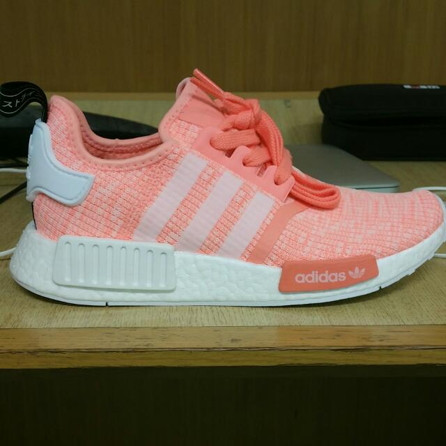 d8c541f70b88f Adidas NMD R1 Sunglow Wmn BY3034 UK4.5