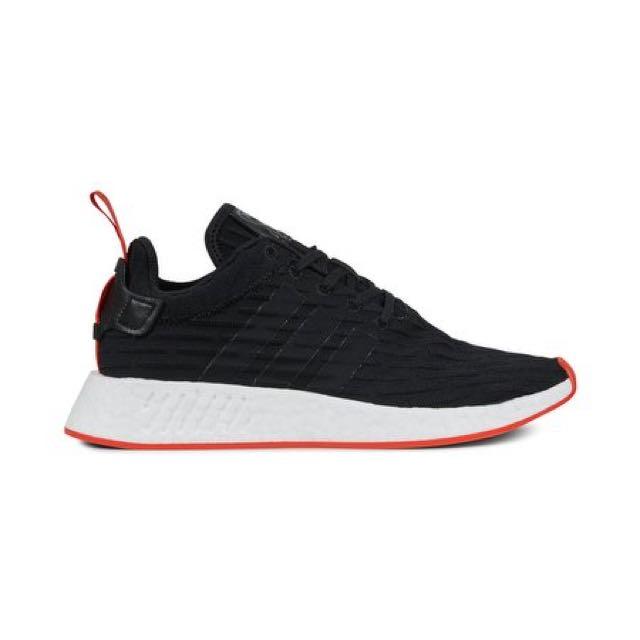 best service e9f03 20644 Adidas NMD Runner R2 PK Black/Red