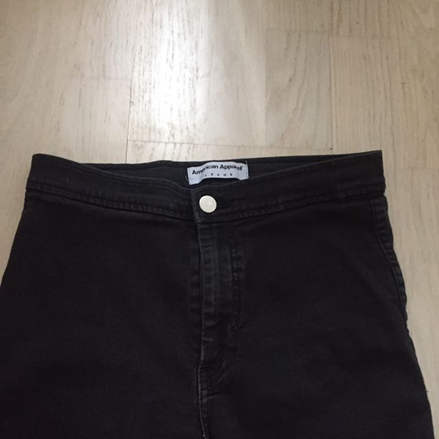 American Apparel Black Jeans