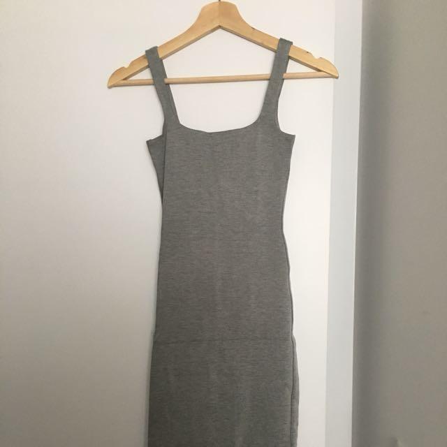 American Apparel Ponte Mid-length Dress