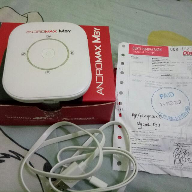 Andromax M3Y Mini Router Modem Wi Fi Elektronik Lainnya Di Carousell