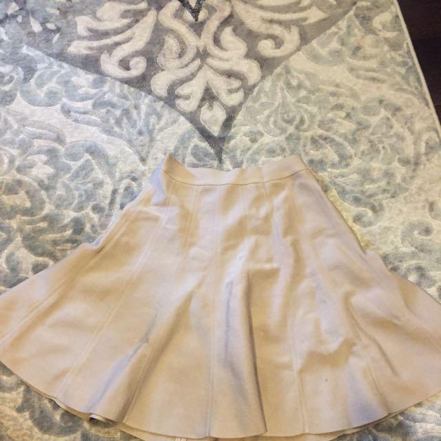 Bebe Flare Bandage Skirt