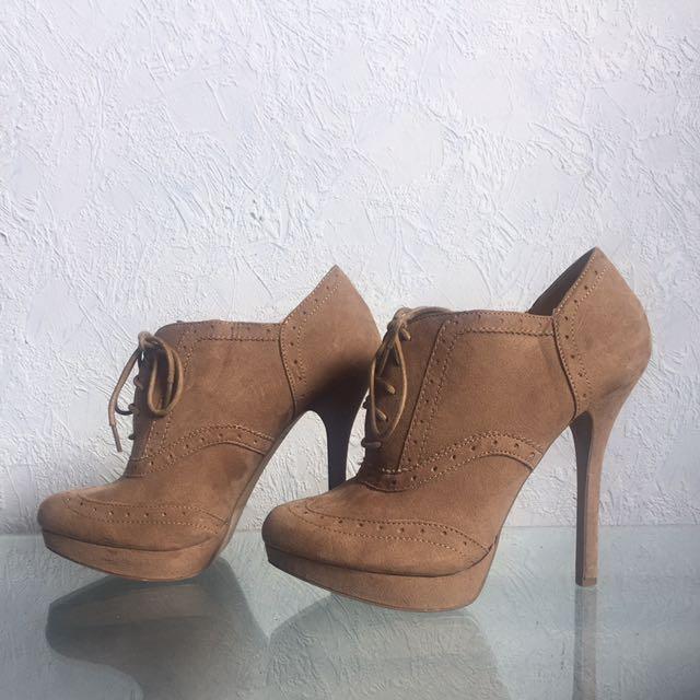 Beige Forever 21 High Heels