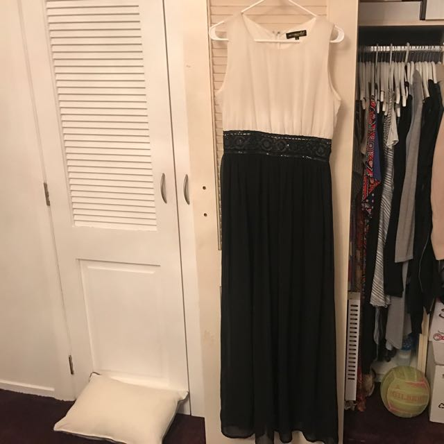Black & White Ball Dress