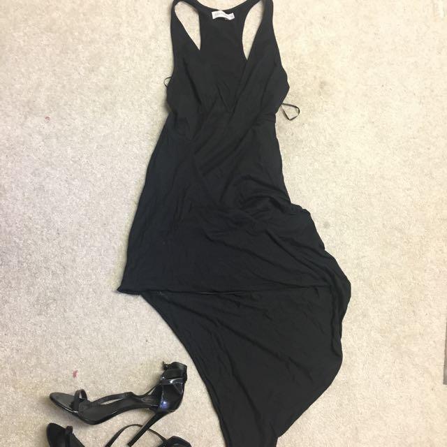 Black Fashion Dress