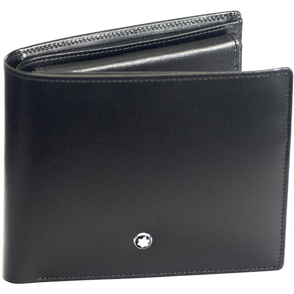 606d40d7bc859 Brand New Genuine MONTBLANC MEISTERSTUCK BLACK LEATHER WALLET 10CC 05524,  Men's Fashion, Bags & Wallets on Carousell