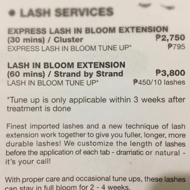 Browhaus Lash In Bloom GIFT CERTIFICATION