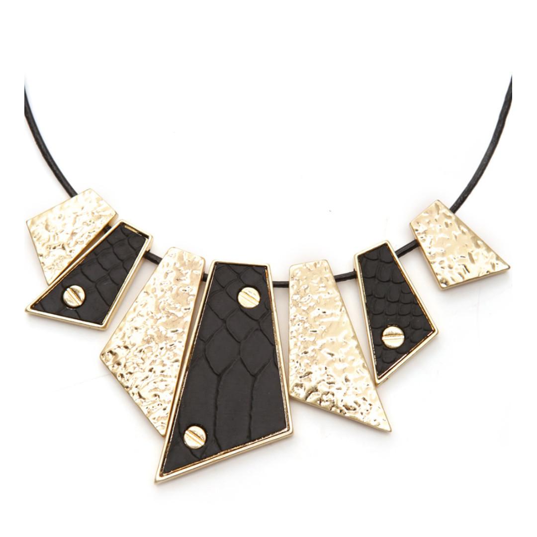 Camilla Jade leather Necklace