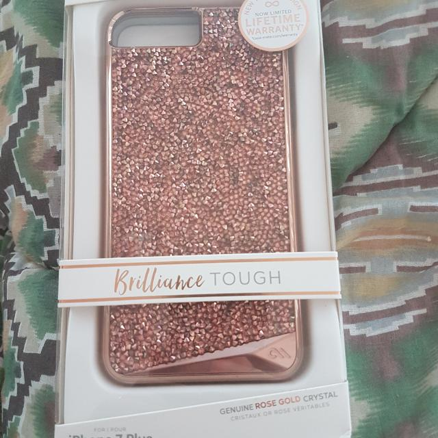 Case Mate Brilliance Tough Iphone 7 Plus Case. Brand New With Lifetime Warranty. Retails At 89.99