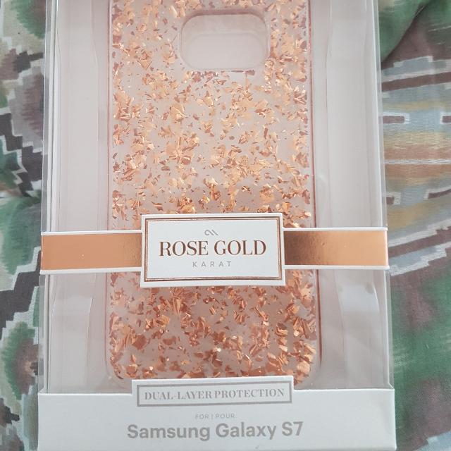 Case MATE S7 Rose Gold Dual Protection Case With Lifetime Warranty Retails At 89.99