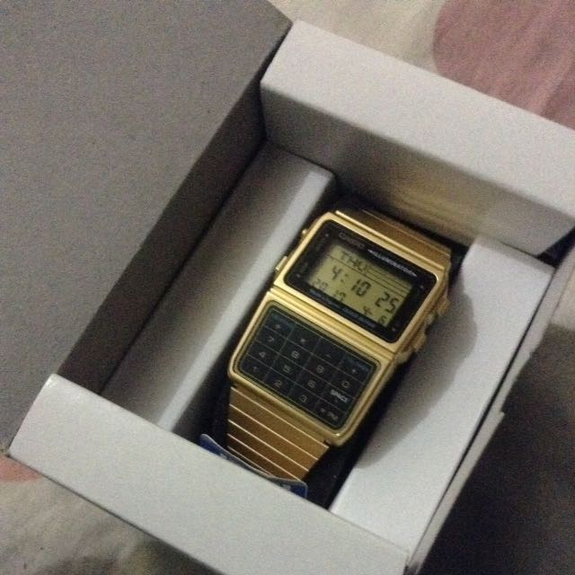 Casio Watch With Calculator