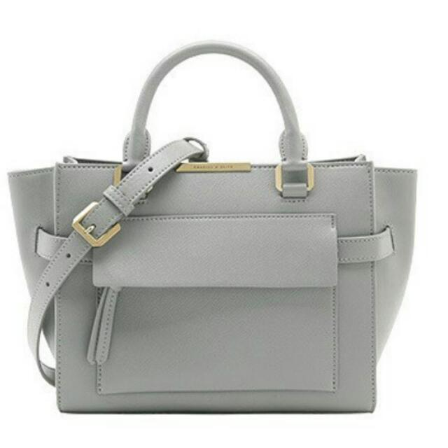 Charles & Keith Trapeze Bag