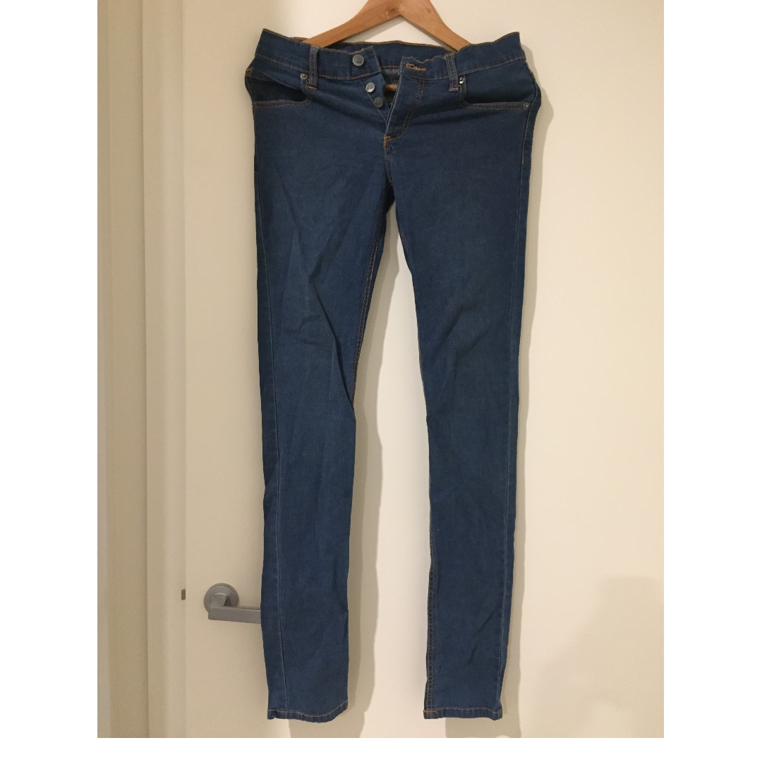 Cheap Monday Straight Washed Jeans