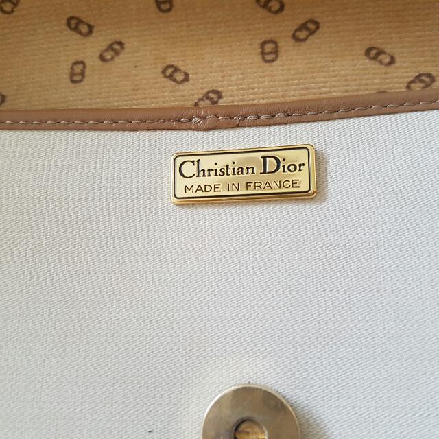 Christian DIOR Vintage Side Bag