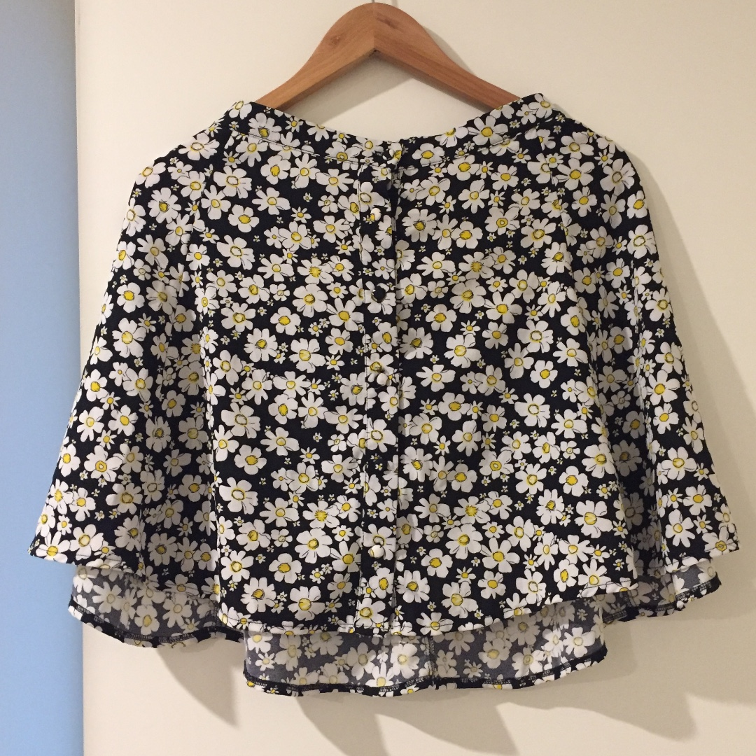 Daisy Button Up Skirt