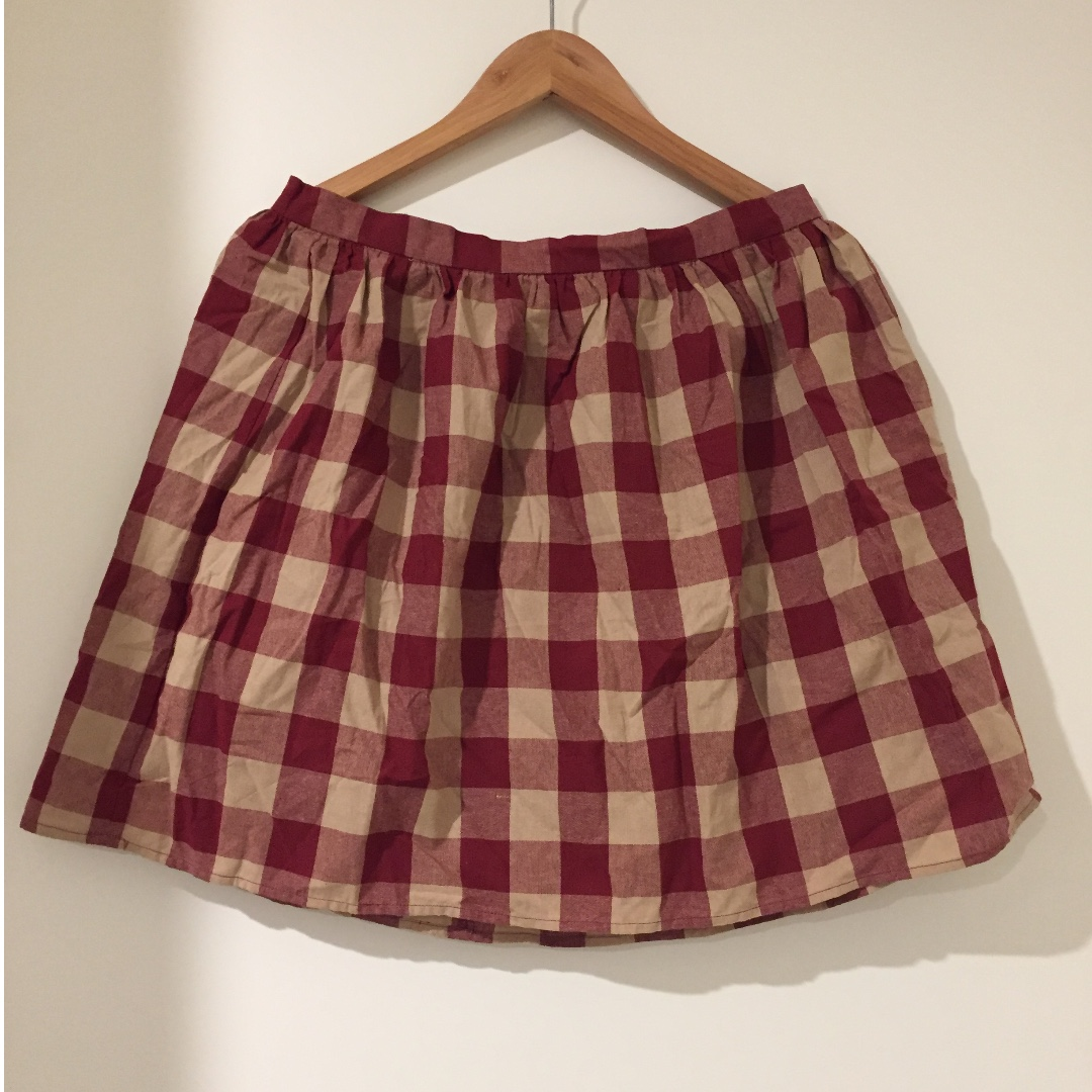 Dangerfield Red Clara Skirt