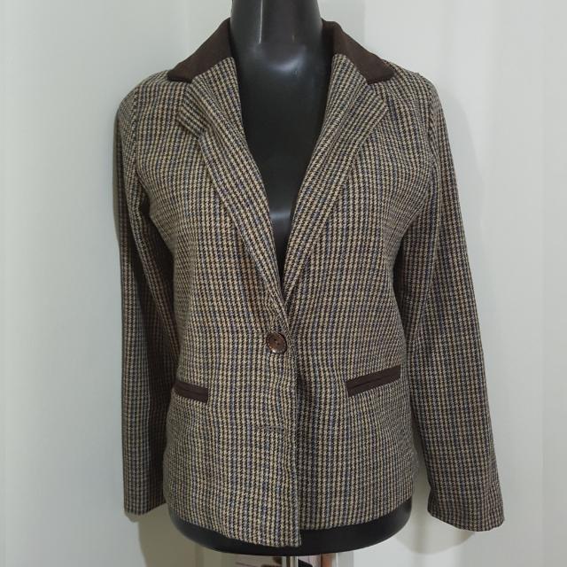 DECO tweed blazer