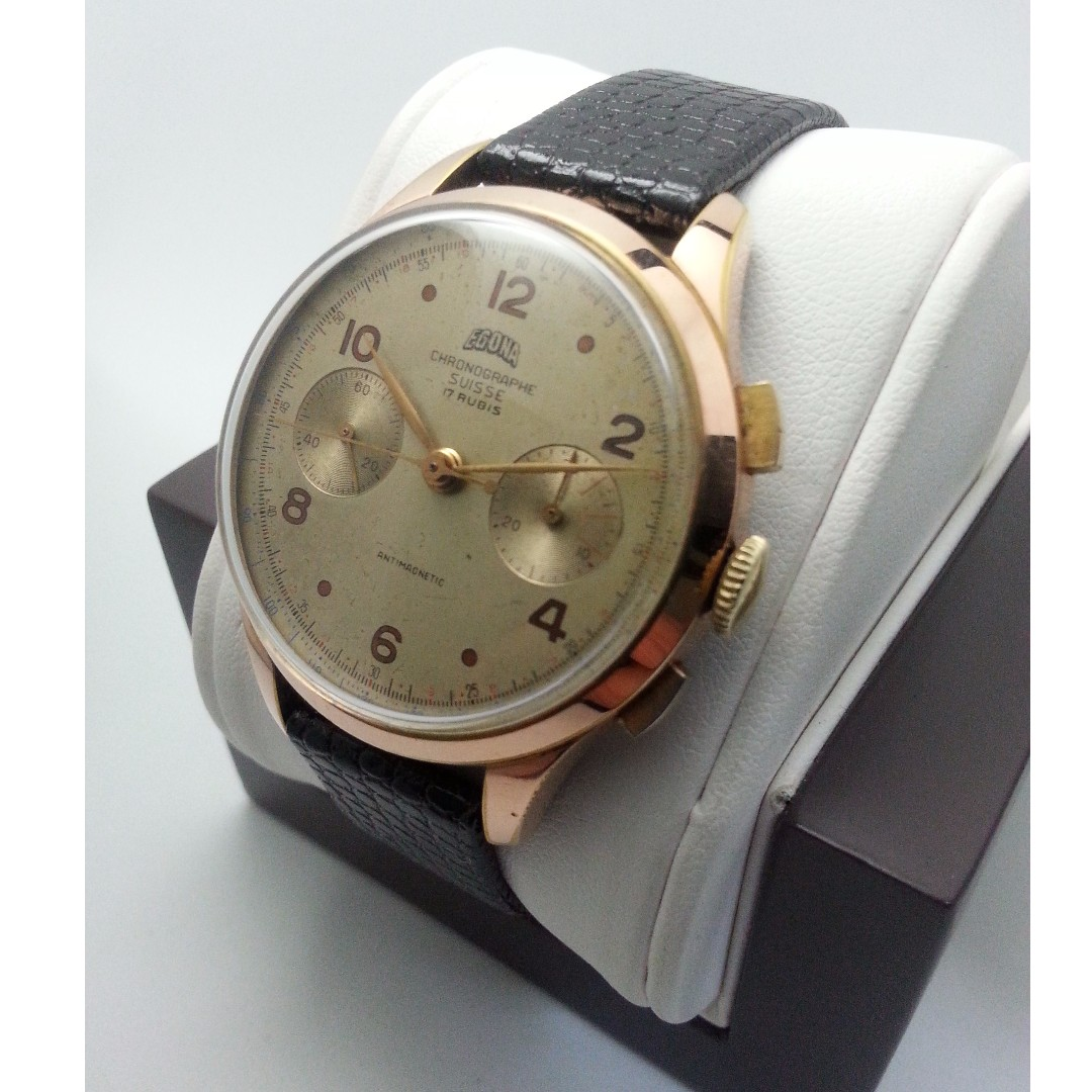 Egona Vintage Chronograph 1950s                   