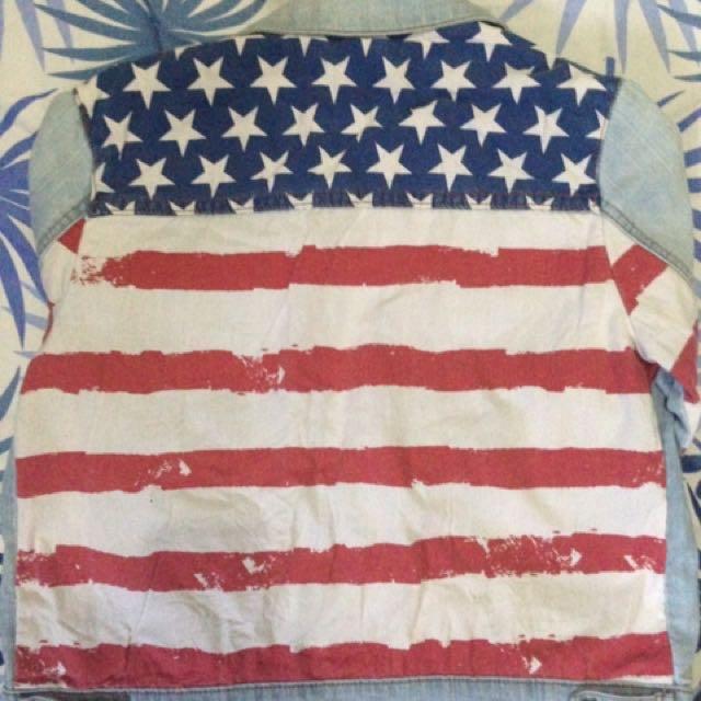 FOREVER 21 USA Denim Jacket